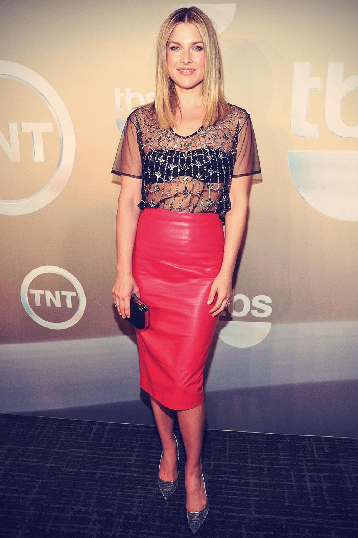 Ali Larter attends TBS/TNT Upfront 2014