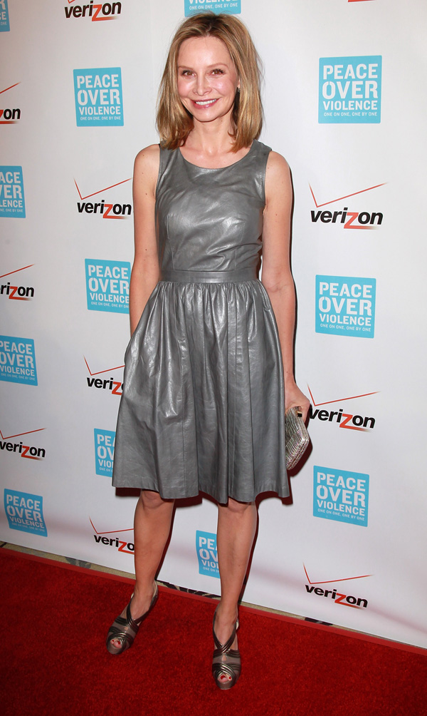 Calista Flockhart attends the Peace Over Violence