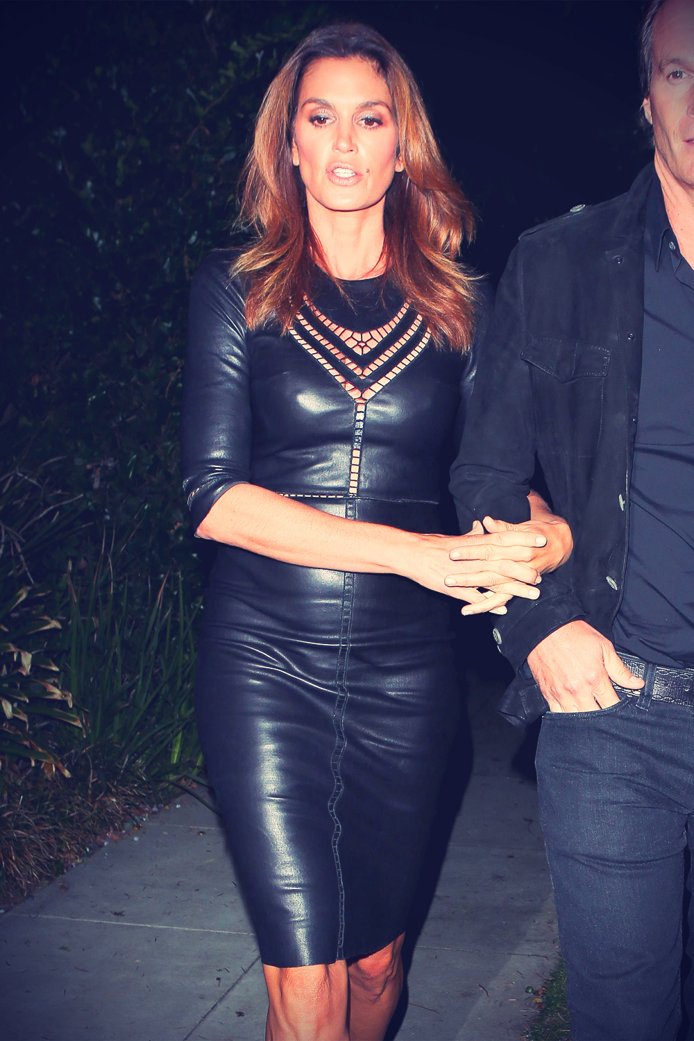 Cindy Crawford attending A Halloween Party