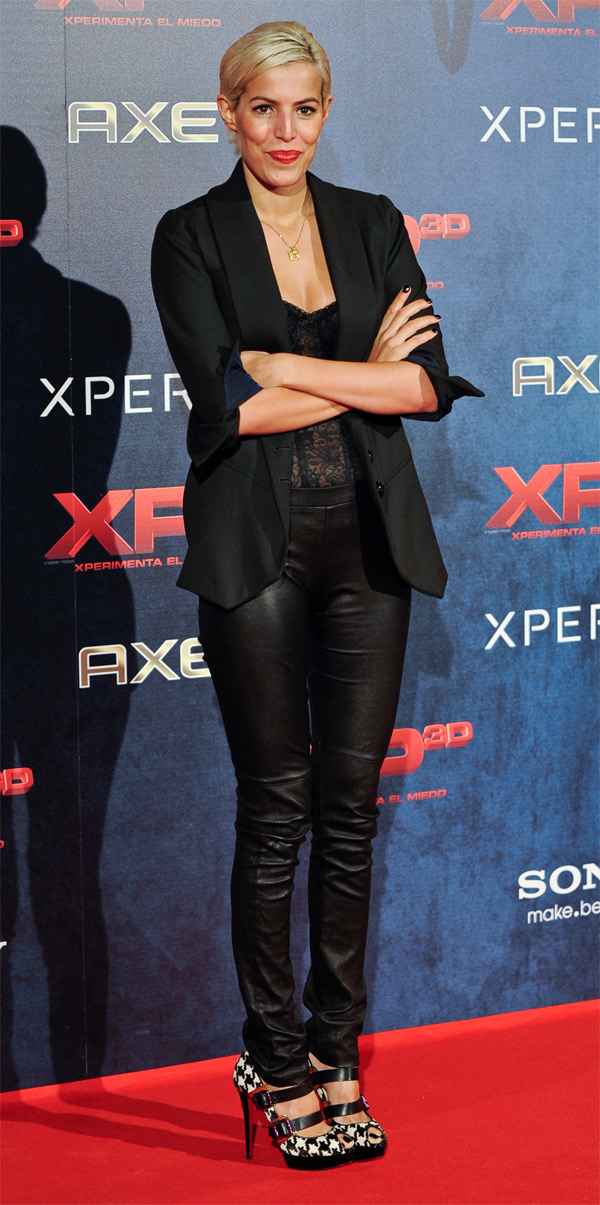 Cristina Warner at XP3D Premiere at Callao Cinema in Madrid