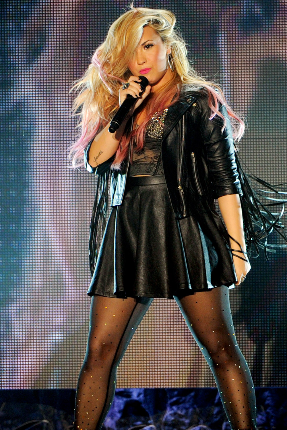 Demi Lovato live at the Greek Theatre