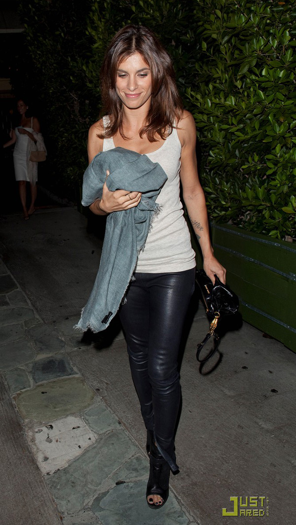 Elisabetta Canalis leaves Ago after having dinner in West Hollywood