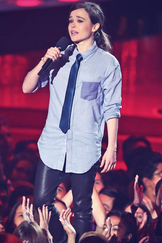 Ellen Page attends MTV Movie Awards