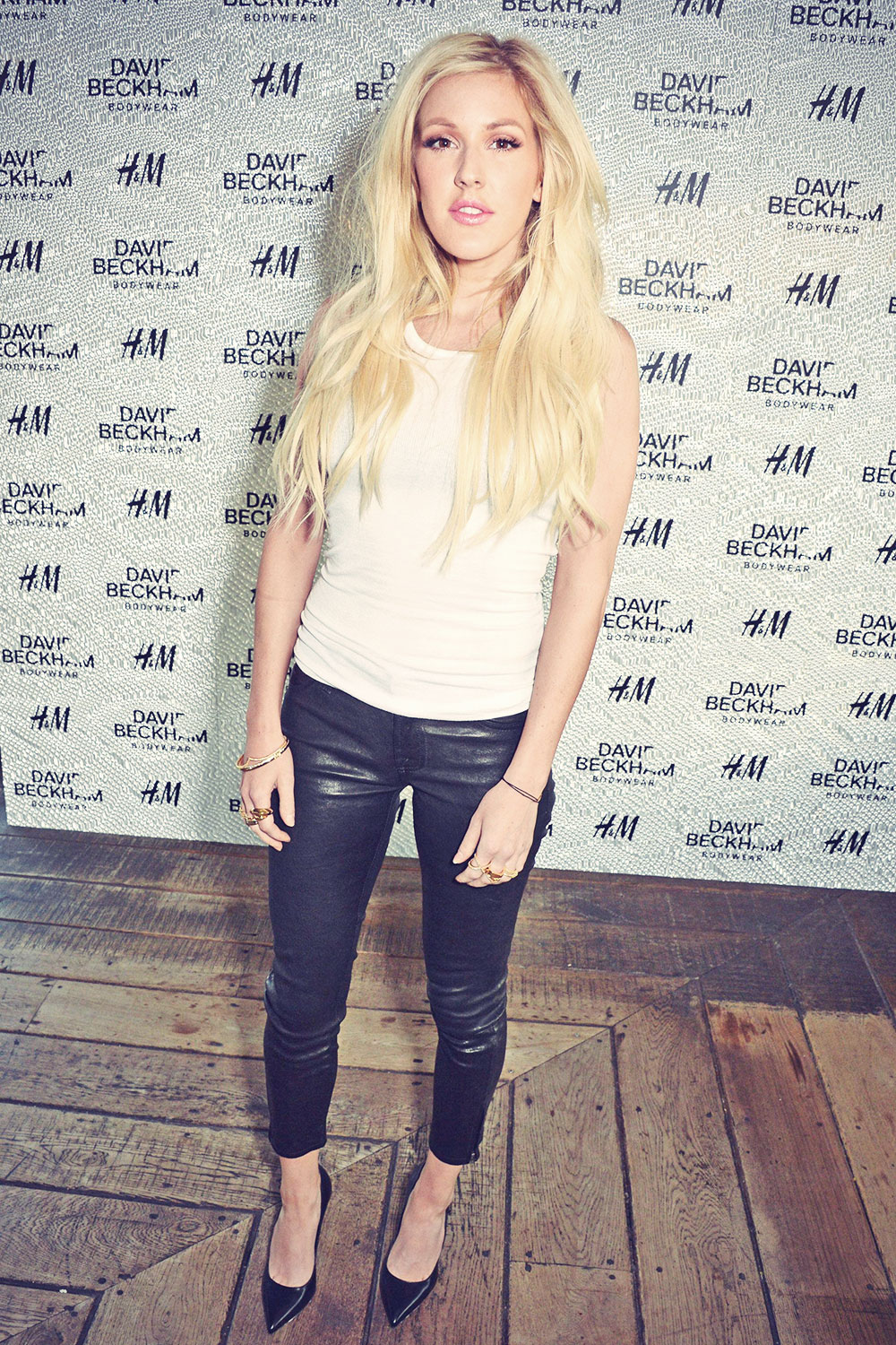 7621440215 Ellie Goulding attends David Beckham For H&M Swimwear Private Launch ...