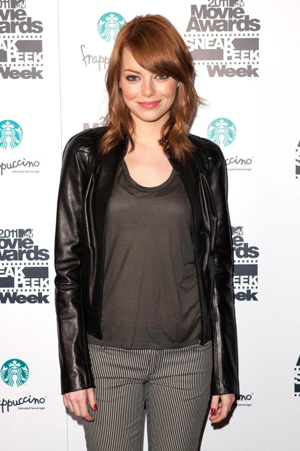 Emma Stone at MTV Movie Awards