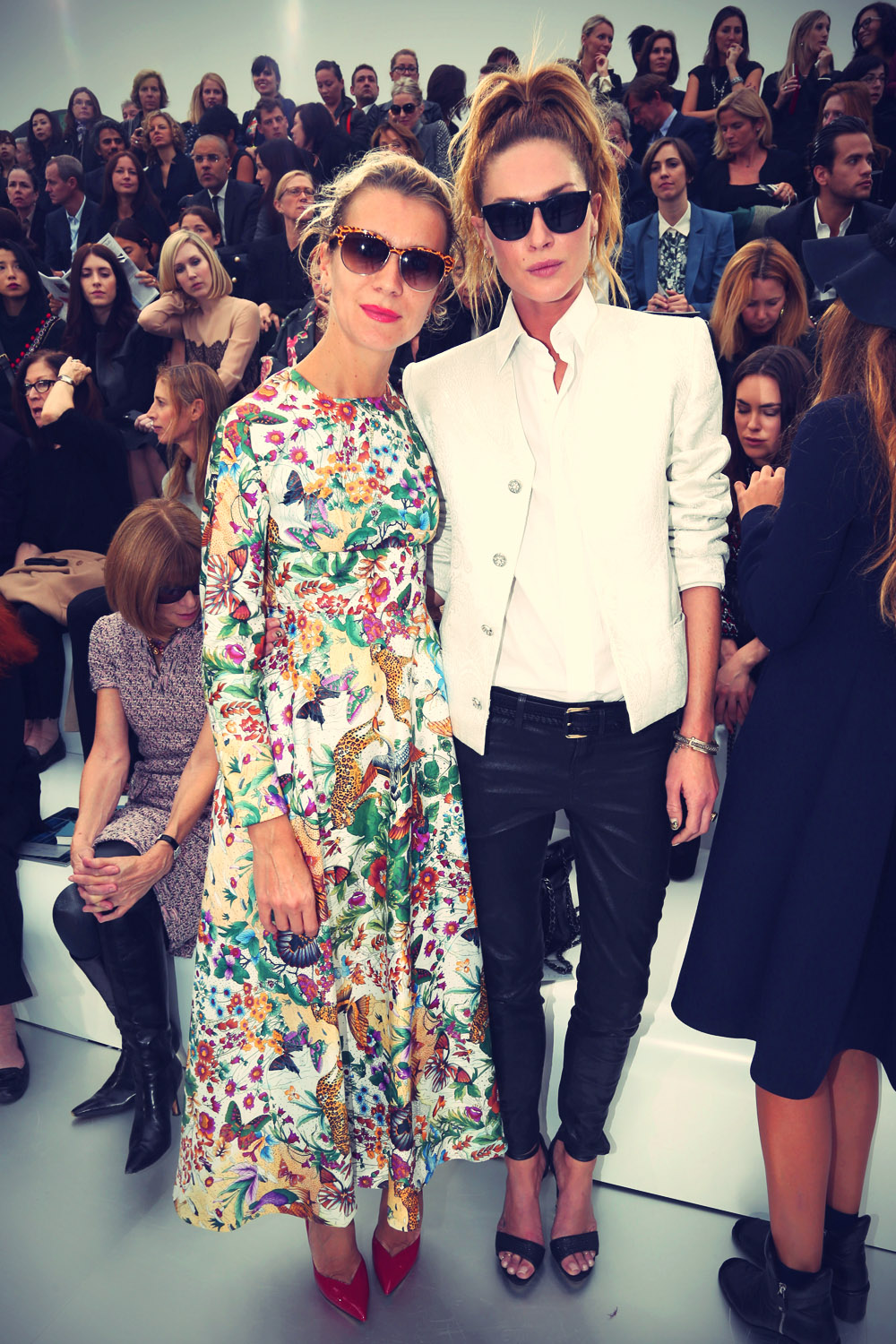 Erin Wasson at the Chanel fashion show