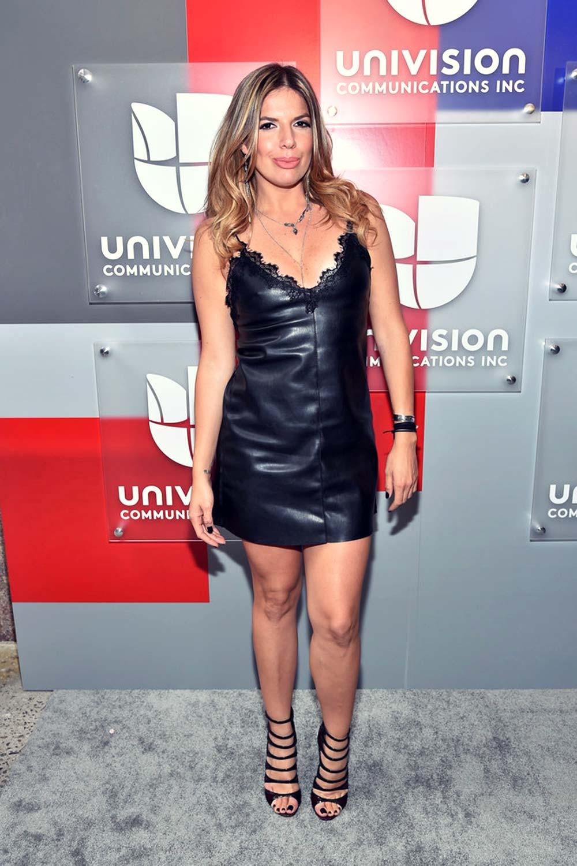 Fernanda Kelly attends Univision 2016 Upfront Red Carpet