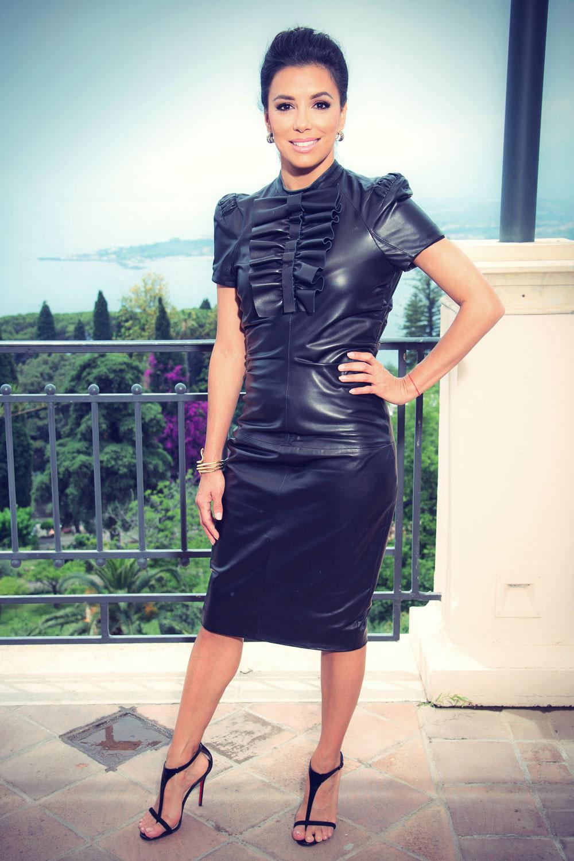 Eva Longoria Portrait Session at 60th Taormina Film Fest