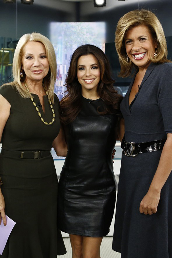 Eva Longoria at NBC Today Show