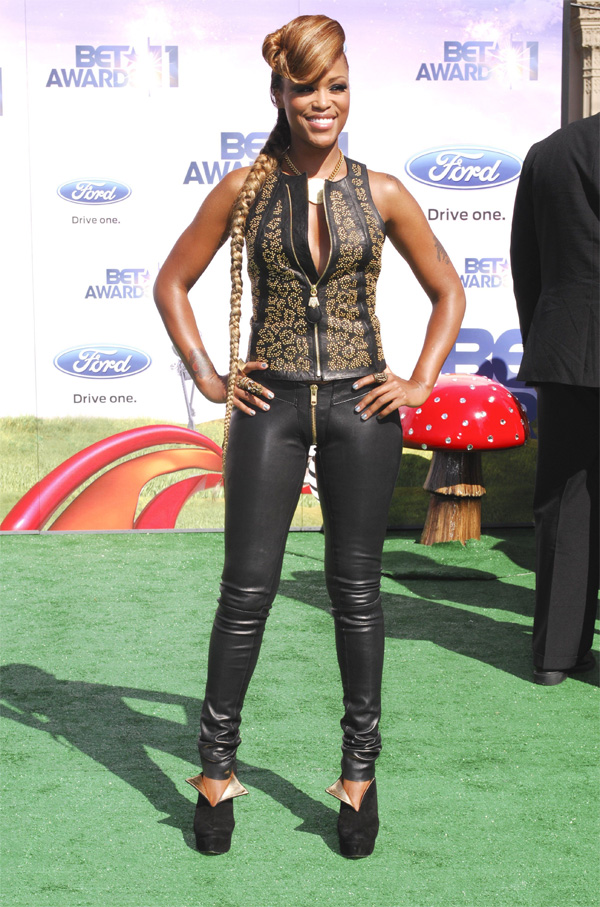 Eve 2011 BET Awards in LA