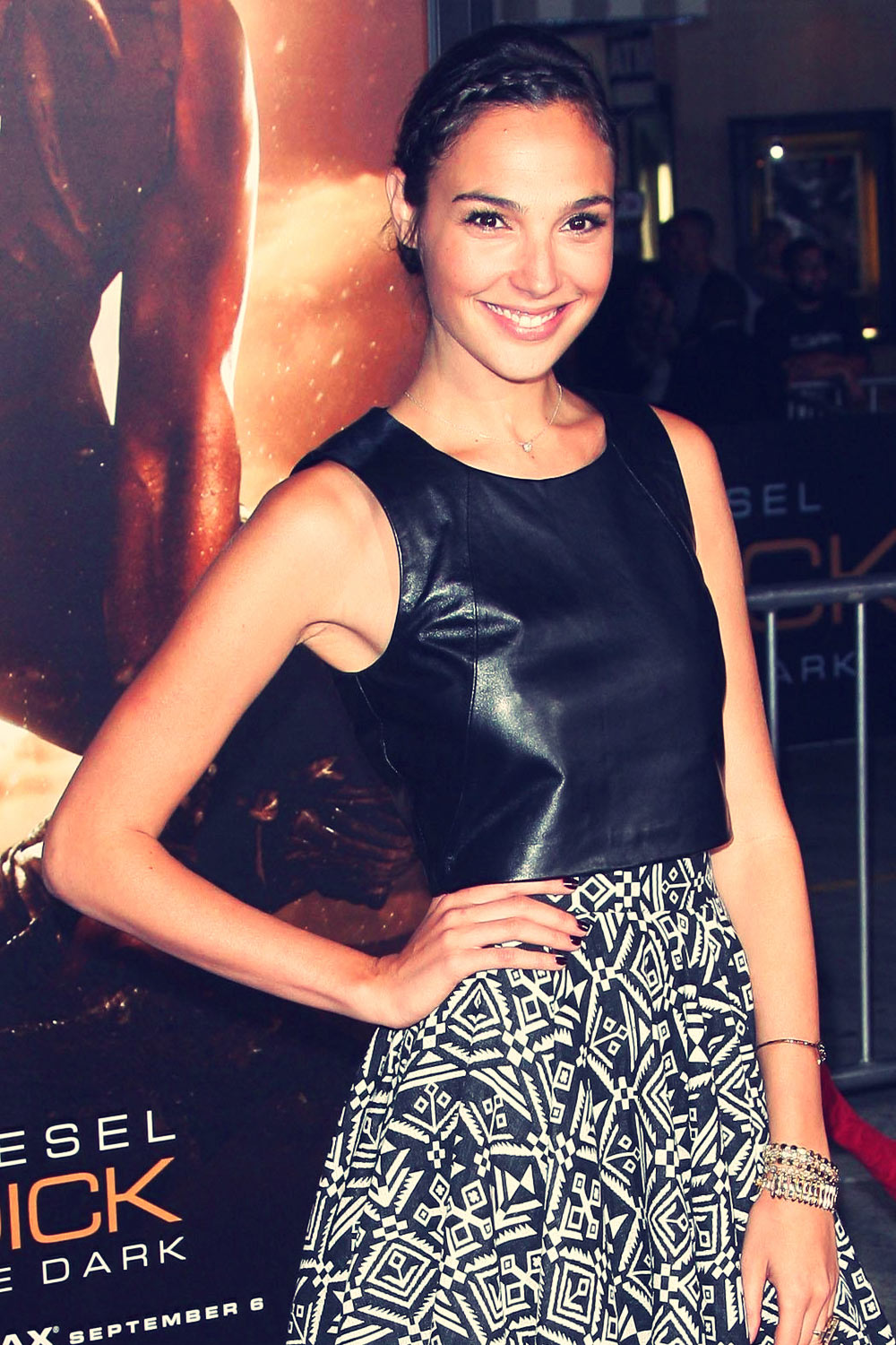 Gal Gadot attends Riddick Premiere at Mann Village Theater