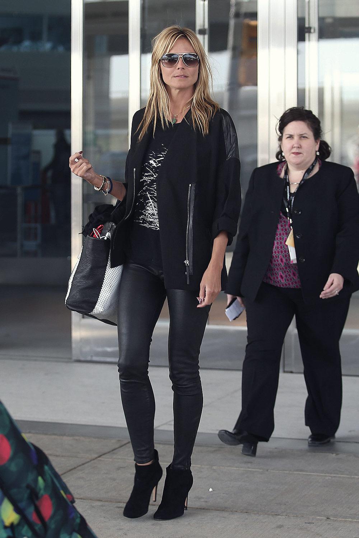 Heidi Klum seen in New York