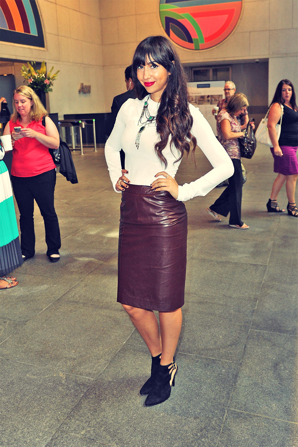 Jackie Cruz attends the annual charity day