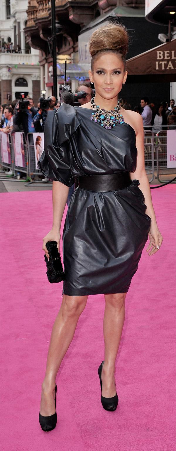 Jennifer Lopez The Back-Up Plan UK Premiere in London
