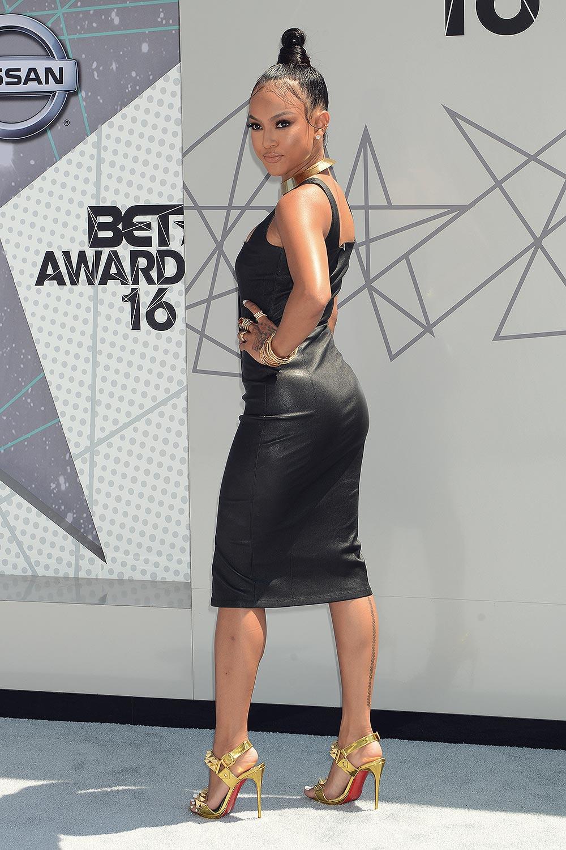 Karrueche Tran attends 2016 BET Awards