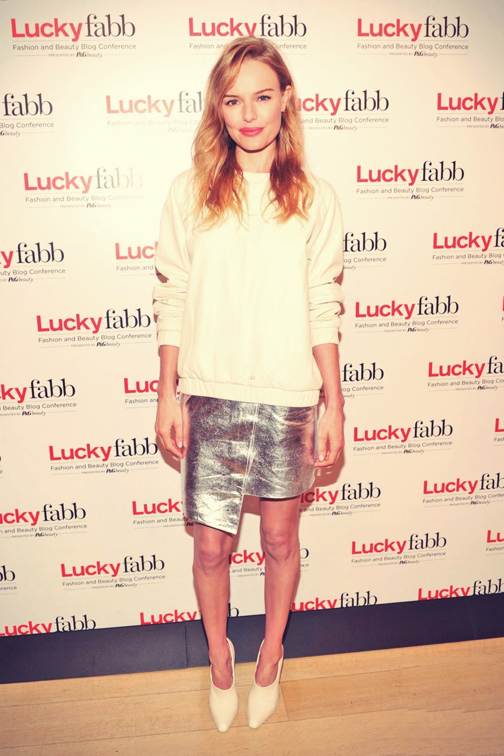 Kate Bosworth attends Lucky Magazine Fashion and Beauty Blog Conference
