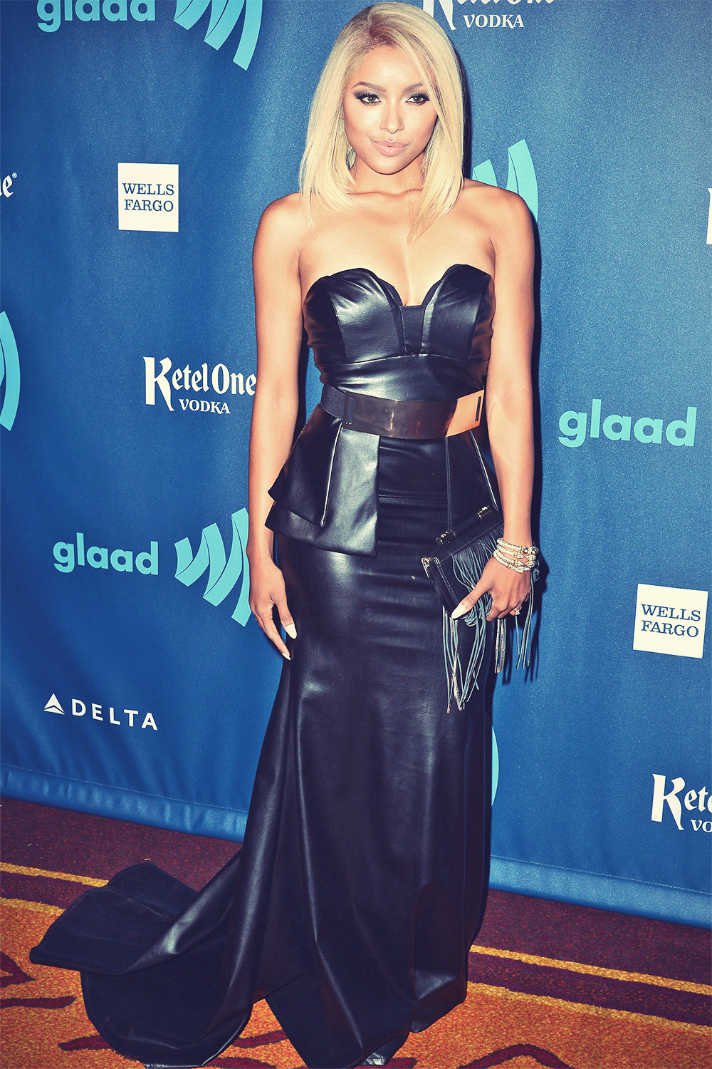 Katerina Graham attends 24th annual GLAAD Media awards
