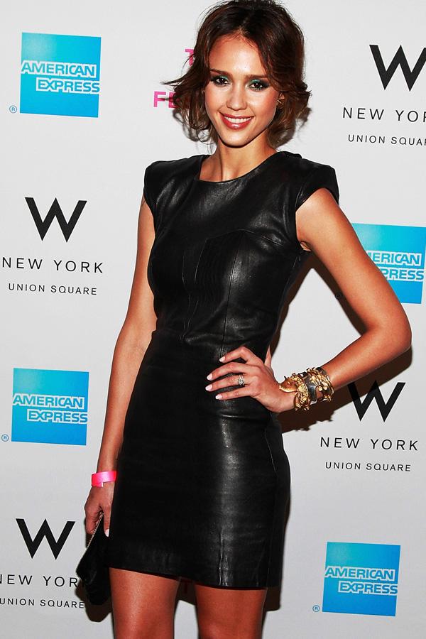 Jessica Alba at The 2010 Tribeca Film Festival