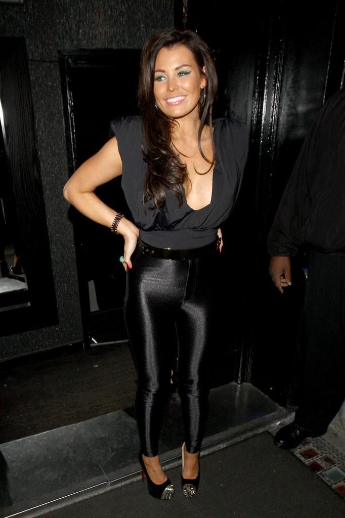 Jessica Wright Parties at Anaya Nightclub