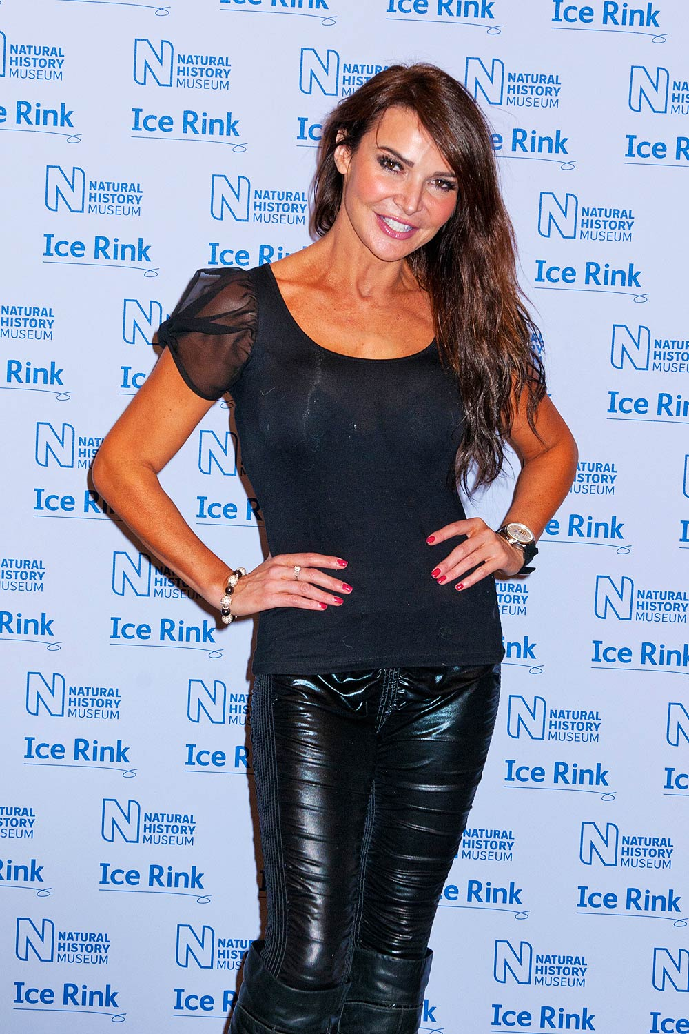 Lizzie Cundy attend the launch of the Natural History Museum