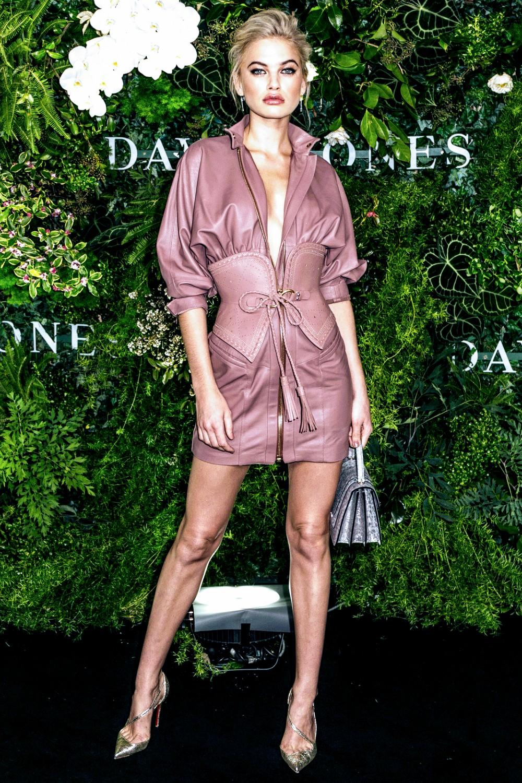 Megan Irwin attends David Jones Spring Summer 2018 Fashion Show
