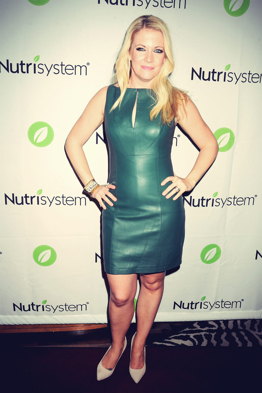 Melissa Joan Hart at her book launch party