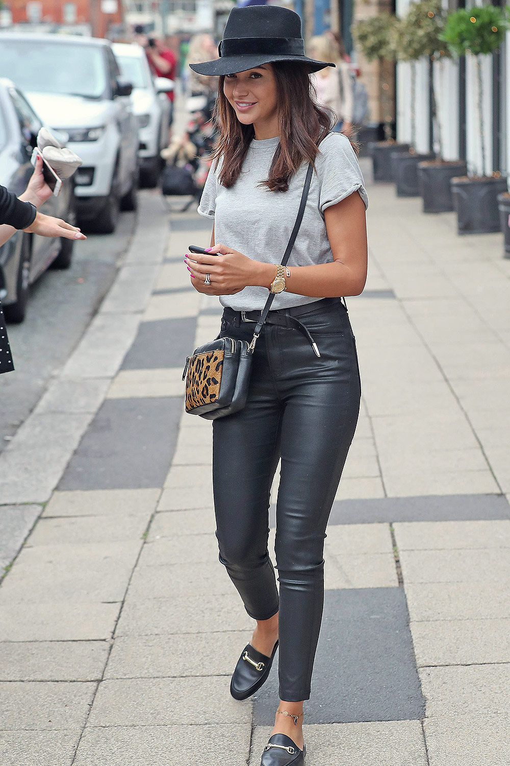 Michelle Keegan seen in Cheshire