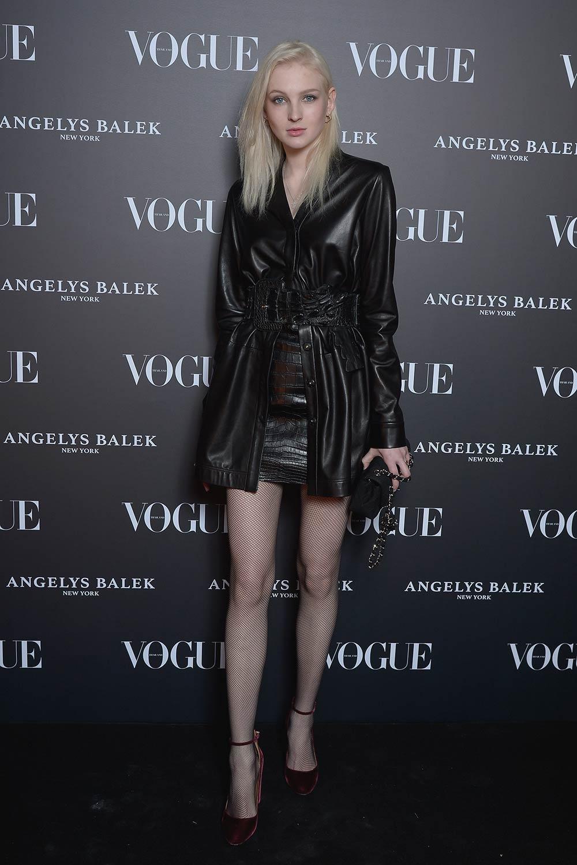 Nastya Sten arrives at the Vogue Thailand & Angelys Balek Cocktail & Dinner