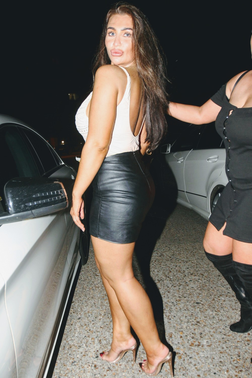 Lauren Goodger Spotted On A Night Out