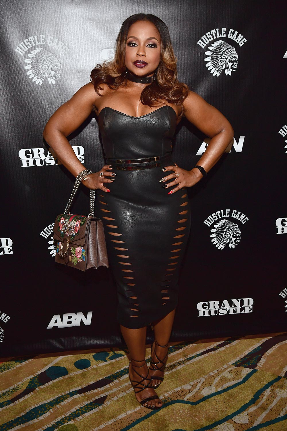 Pheadra Parks attends a Grand Hustle Dinner