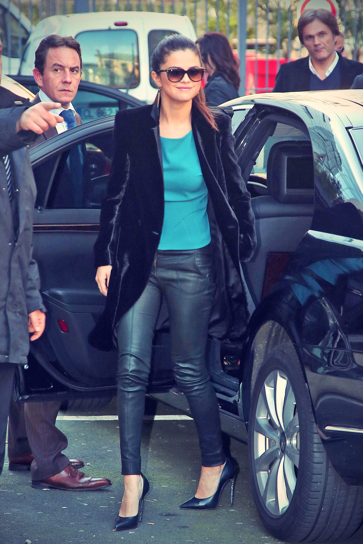 Selena Gomez at NRJ Radio Station