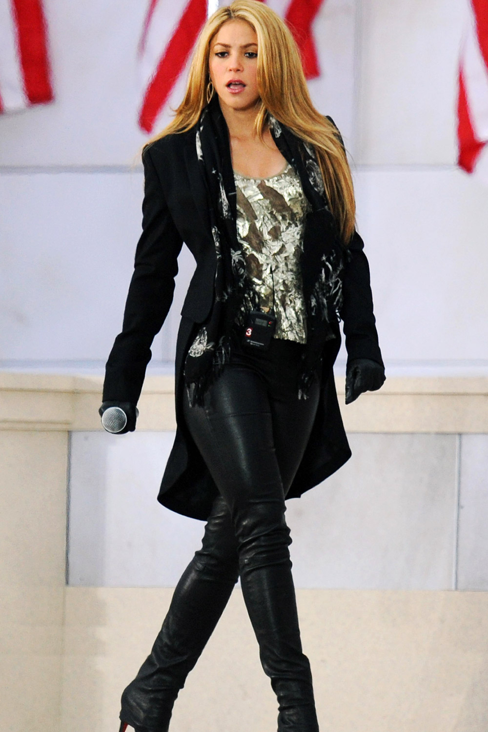 Shakira at We Are One The Obama Inaugural Celebration