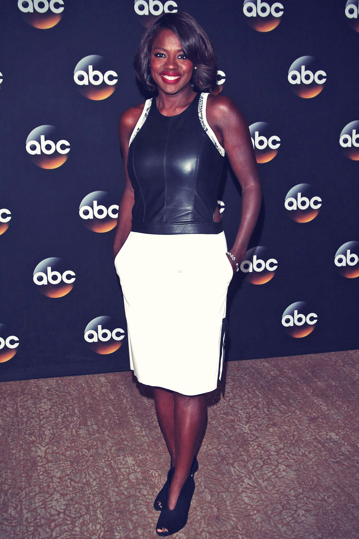 Viola Davis attends the Disney & ABC Television Group