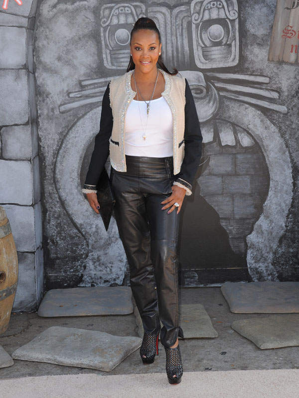 Vivica A. Fox Premiere of Puss in Boots at The Regency Village Theatre in Westwood