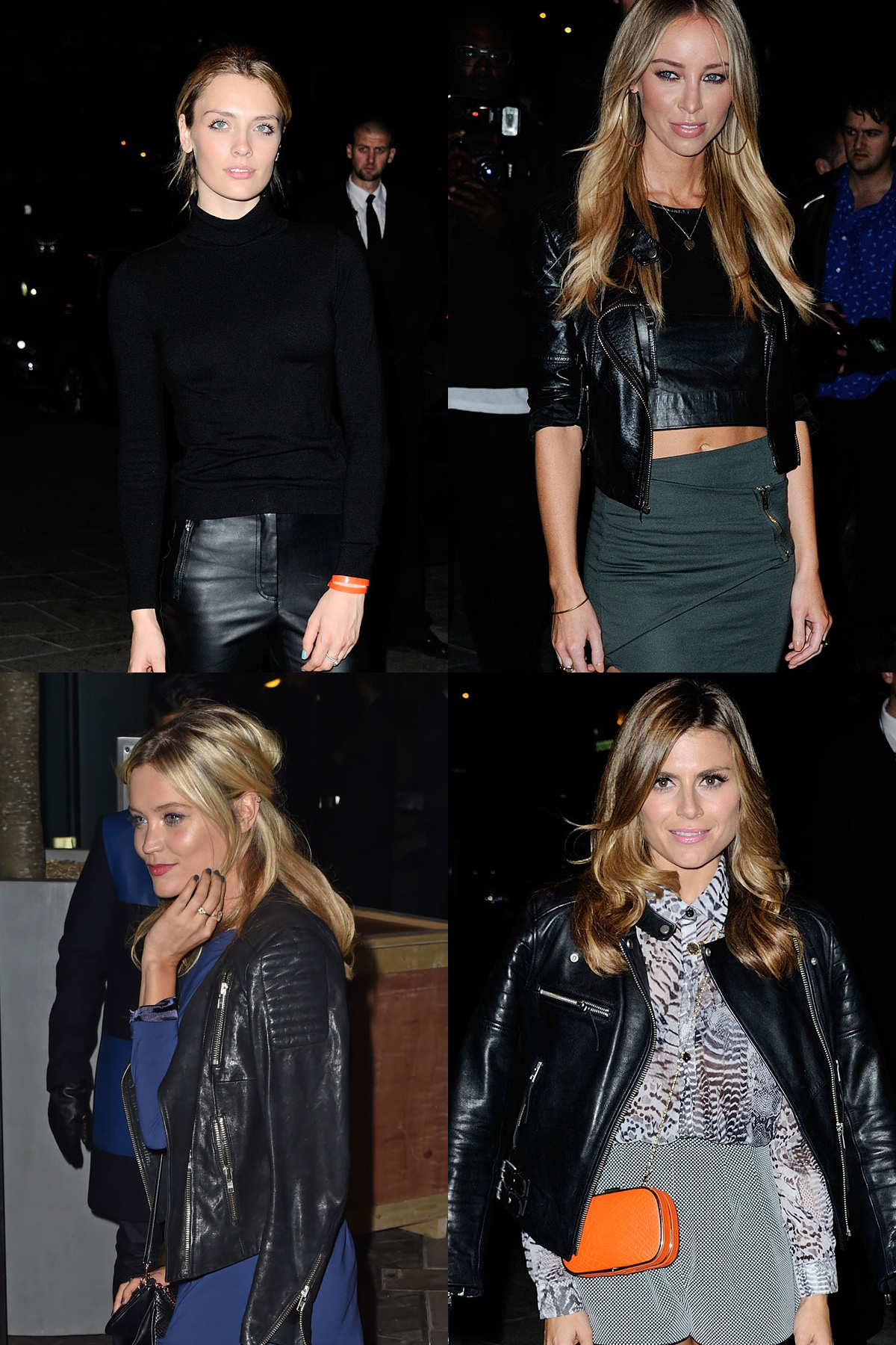 Wallis Day, Lauren Pope, Laura Whitmore and Zoe Hardman attend Mondrian Hotel launch party